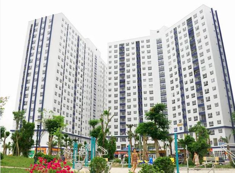 Hình ảnh dự án chung cư khu đô thị Thanh Hà Hà Đông