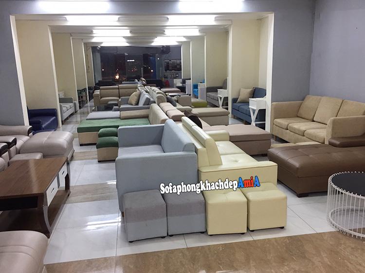 Hình ảnh sofa phòng khách nhỏ giá rẻ tại Hà Nội uy tín, chất lượng và đáng tin cậy tại Nội thất AmiA