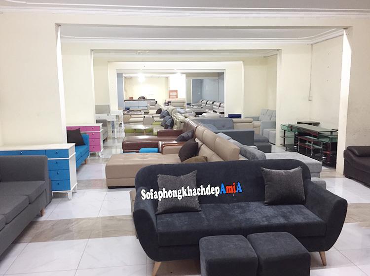 Hình ảnh sofa phòng khách nhỏ hẹp tại Hà Nội uy tín, chất lượng