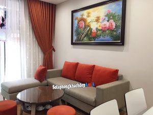 Hình ảnh Mẫu sofa đẹp cho phòng khách nhỏ kèm bàn trà sofa hiện đại