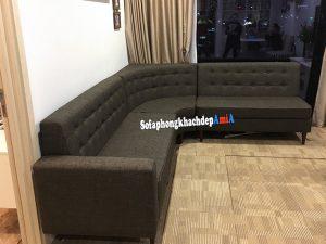 Hình ảnh Sofa góc cho nhà chung cư đặt làm theo yêu cầu AmiA SF-1913