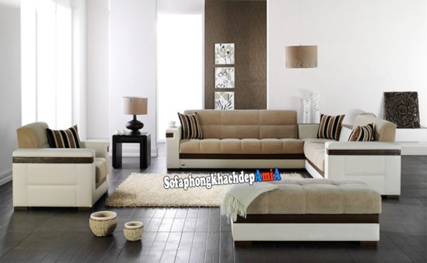 Hình ảnh Sofa nhà biệt thự đẹp sang trọng cho phòng khách hiện đại