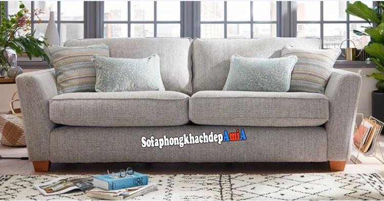 Hình ảnh Sofa văng phòng khách nhỏ giá rẻ thiết kế 2 chỗ nhỏ xinh