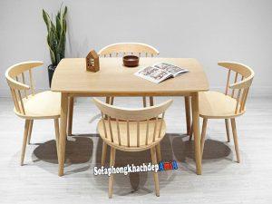 Hình ảnh Bàn ghế ăn đẹp giá rẻ 4 ghế hiện đại và sang trọng