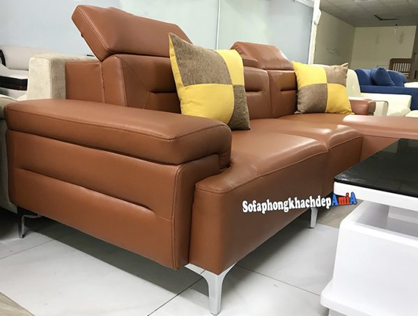 Hình ảnh Bàn ghế phòng khách cao cấp chất liệu da Hàn nhập khẩu