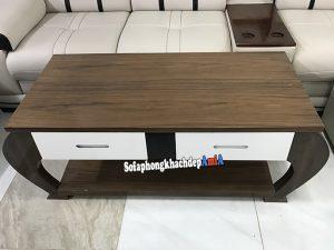 Hình ảnh Bàn sofa gỗ hiện đại phòng khách kiểu dáng mới lạ