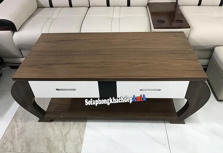 Ban Sofa Gỗ Gia Rẻ Cho Phong Khach Hiện đại Amia Btr178