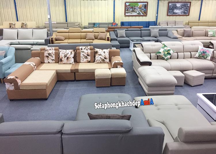 Hình ảnh Địa chỉ mua bàn ghế sofa đẹp Linh Đàm nhiều mẫu có sẵn tại kho hoặc đặt làm theo yêu cầu riêng tại Hà Nội