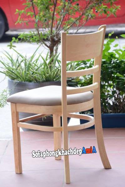 hình ảnh ghế bàn ăn hiện đại chất liệu gỗ đẹp cho phòng ăn