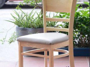 Hình ảnh Ghế gỗ bàn ăn hiện đại thiết kế đơn giản mà đẹp