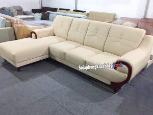 Hình ảnh Ghế sofa da nhập khẩu Hàn Quốc kiểu dáng mới đang rất được yêu thích