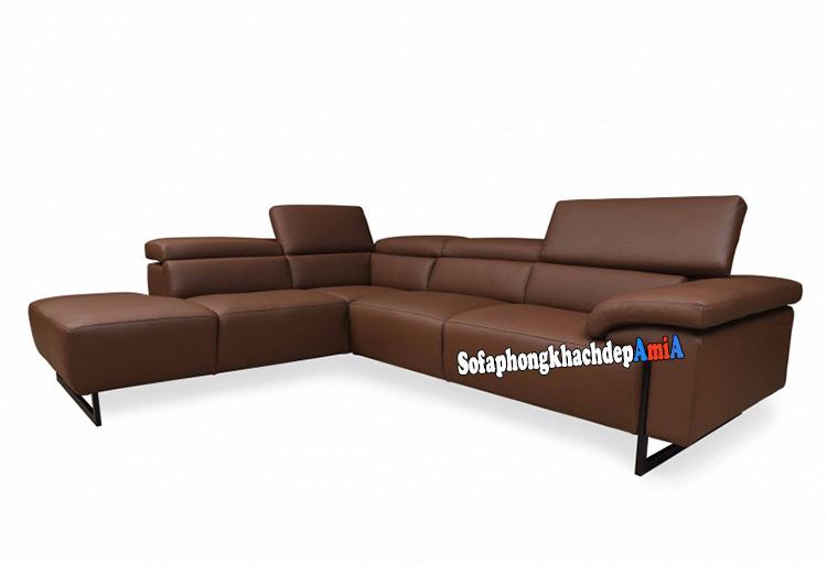 Hình ảnh Sofa da nhập khẩu cao cấp đẹp hiện đại