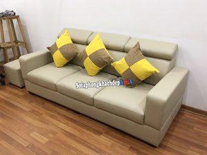 Hình ảnh Sofa đẹp cho phòng khách nhỏ dạng văng da đẹp