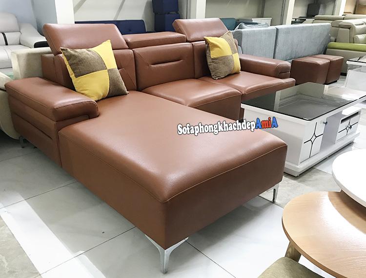 Hình ảnh Sofa phòng khách cao cấp Hàn Quốc đẹp hiện đại và sang trọng