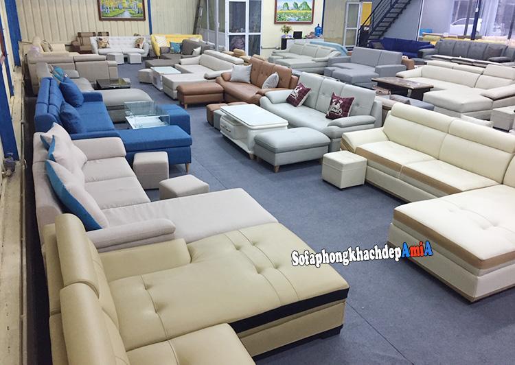 Hình ảnh Các mẫu sofa da nhập khẩu cao cấp cho phòng khách đẹp