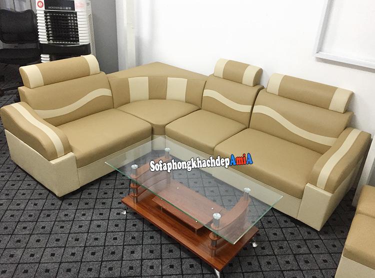 Hình ảnh Bàn ghế sofa phòng khách giá rẻ tại Hà Nội chỉ 2.290k một bộ