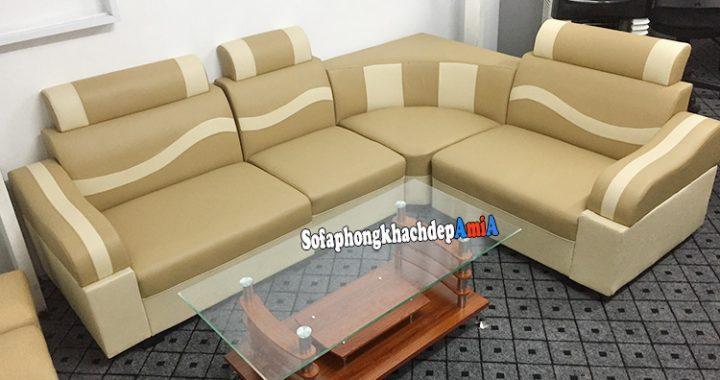 Hình ảnh Bộ sofa phòng khách giá rẻ đẹp Hà Nội