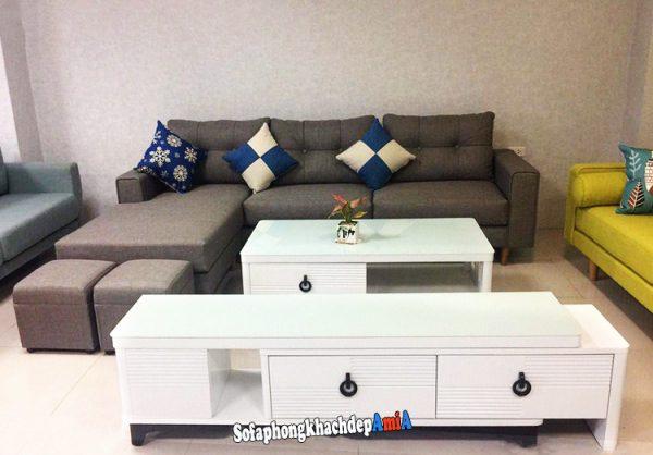 Hình ảnh Các mẫu kệ tivi đẹp bằng gỗ cho phòng khách hiện đại