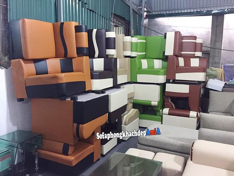Hình ảnh Các mẫu sofa đẹp giá rẻ Hà Nội cho phòng khách