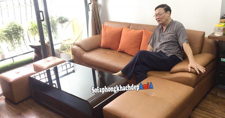 Hình ảnh Chọn mẫu ghế sofa đẹp cho phòng khách nhỏ chung cư