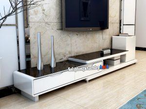 Hình ảnh Kệ tivi phòng khách bằng gỗ hiện đại và sang trọng