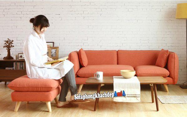 Hình ảnh Sofa cho phòng khách nhỏ hẹp giá rẻ