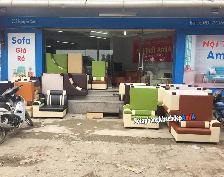 Hình ảnh địa chỉ bán sofa giá rẻ Hà Nội cực nhiều mẫu có sẵn