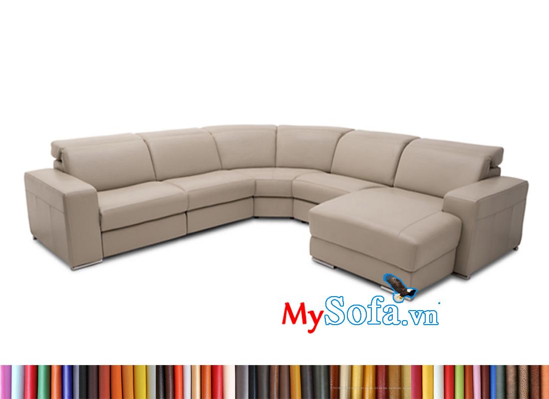Ghế sofa cho phòng khách rộng