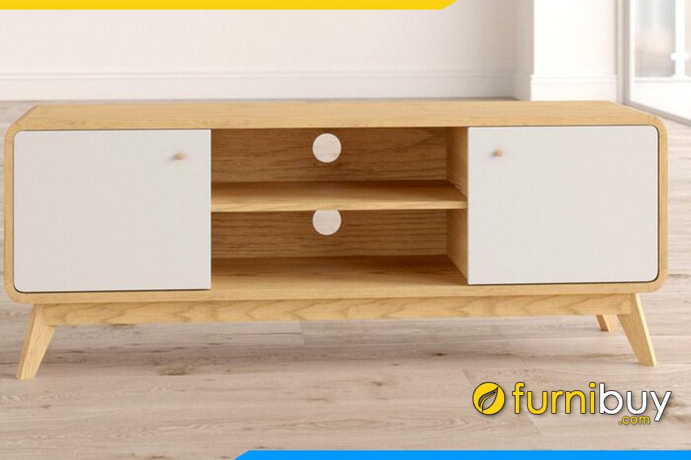 Kệ tivi gỗ đẹp kích thước 1m8 FBK106