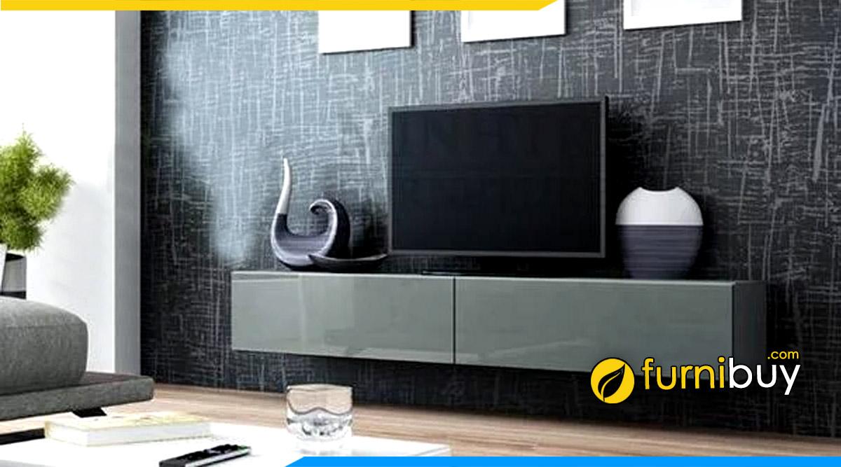 Mẫu kệ tivi Acrylic tráng gương đơn giản đẹp