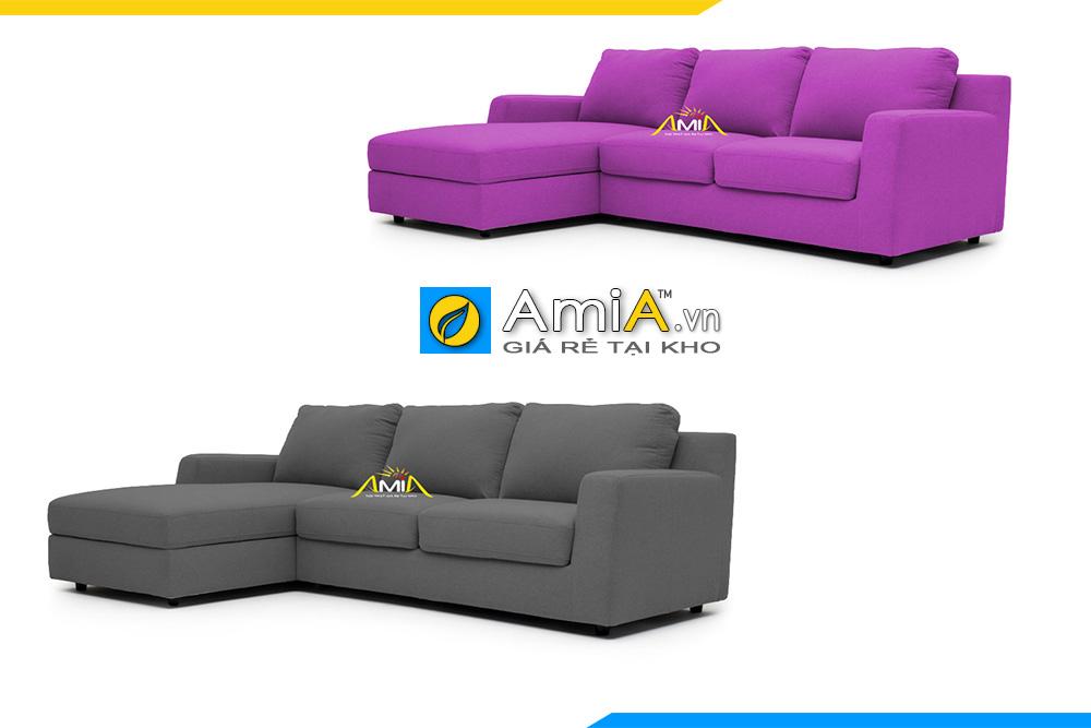 sofa góc vải nỉ đẹp
