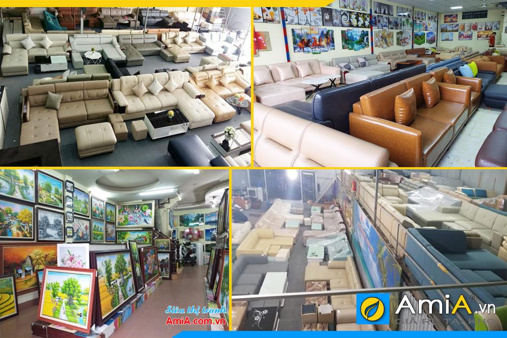 Nội thất AmiA – giá rẻ tại Kho. Chuyên các mặt hàng bàn ghế sofa, kệ tivi, bàn ghế ăn, tranh treo tường, tủ giày dép, tủ quần áo, giường ngủ, bàn trang điểm, kệ trang trí…cùng nhiều mặt hàng nội thất gia đình khác.